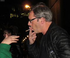 20170429_1 Gijs Scholten van Aschat meeting fans after ''Obsession'' at Barbican Theatre, London, England