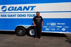 Famous Celebrity Joseph Carrillo Promoting Giant Bicycles