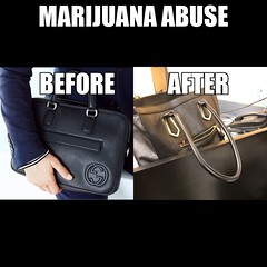 Gotta inject my marijuana