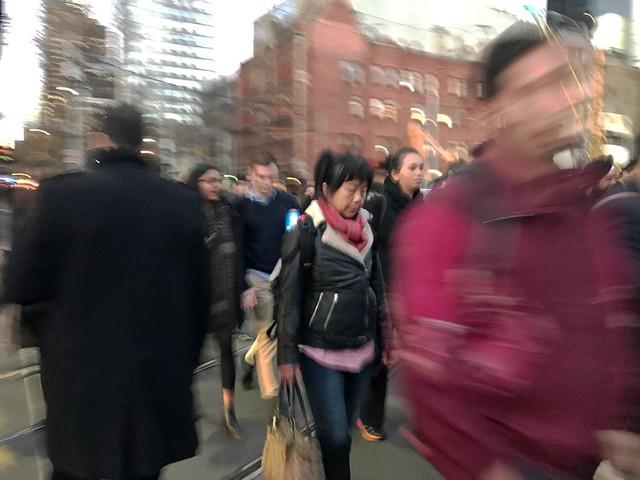 Spencer Street, Melbourne, Victoria, Australia. 2017-0-09 17:20:25