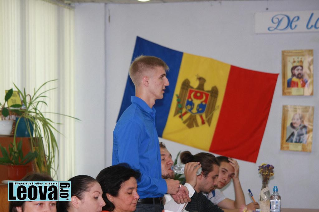 Forumul raional al Tinerilor din r.Leova