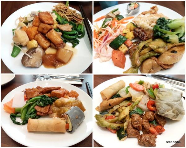 Blossom Vegetarian food selection