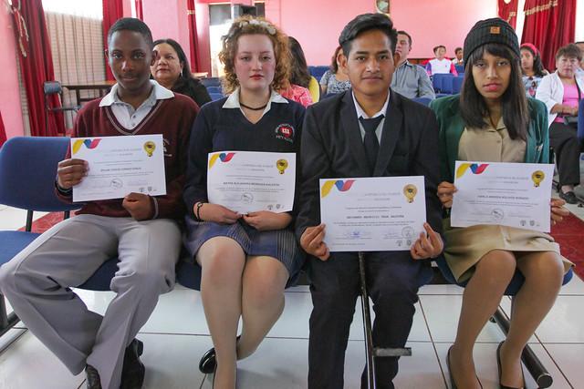 Graduación de estudiantes con enfermedades catastróficas