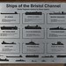 014-20180221_Gordano District-Somerset-Clevedon Pier-information plaque detailing types of Ships of Bristol Channel
