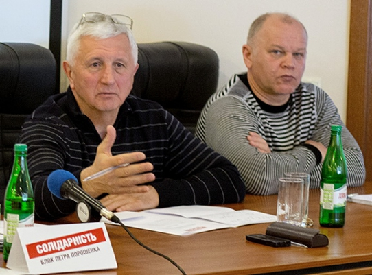 Анатолий Матвиенко и Михаил Довбенко