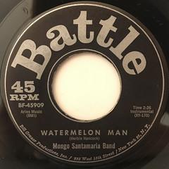 MONGO SANTAMARIA BAND:WATERMELON MAN(LABEL SIDE-A)