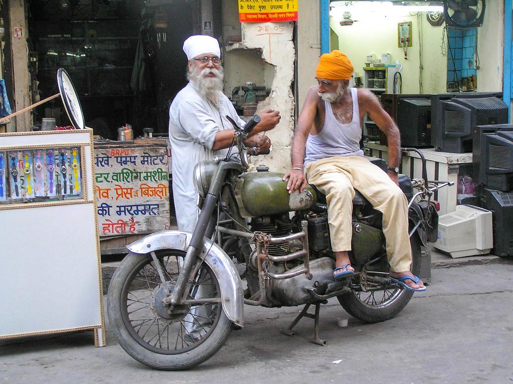 Visita a Nueva Delhi