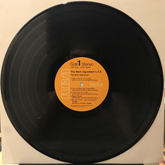 THE MAIN INGREDIENT:L.T.D.(RECORD SIDE-A)