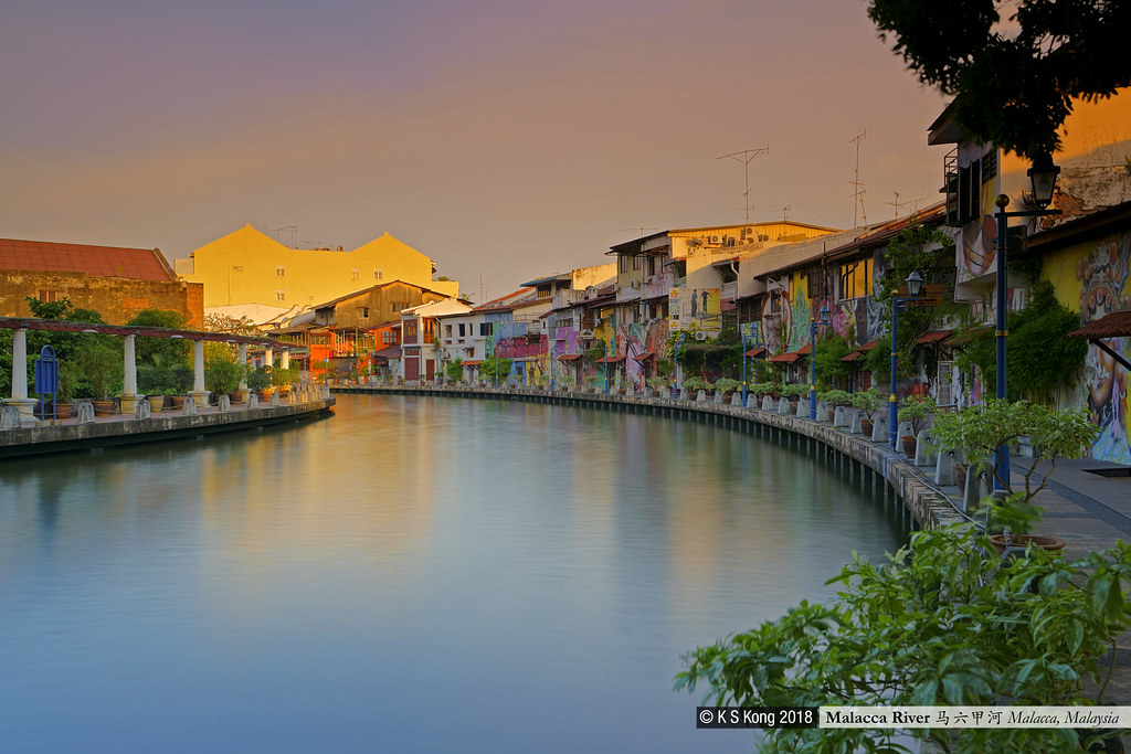 Malacca River Sunset 黃昏的馬六甲河 _DSC9114