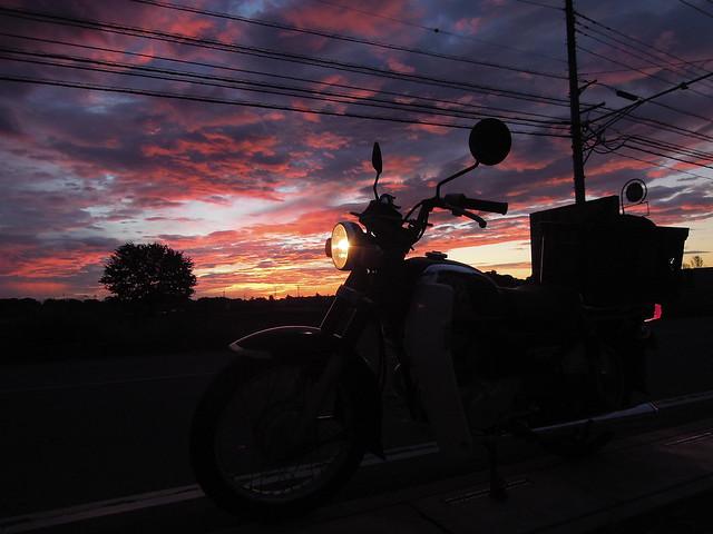 朝焼け CD125T