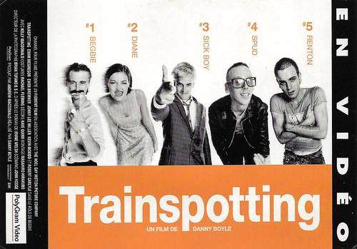 Ewan MacGregor, Robert Carlisle, Kelly Macdonald, Jonny Lee Miller and Ewen Bremner in Trainspotting (1996)