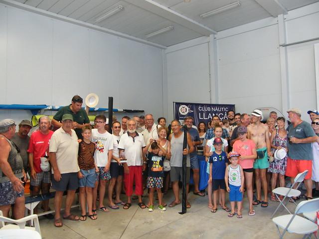 20180804 03 Concurs pesca C.N. Llançà - lliurament de trofeus