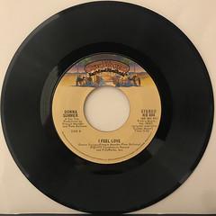 DONNA SUMMER:I FEEL LOVE(RECORD SIDE-B)