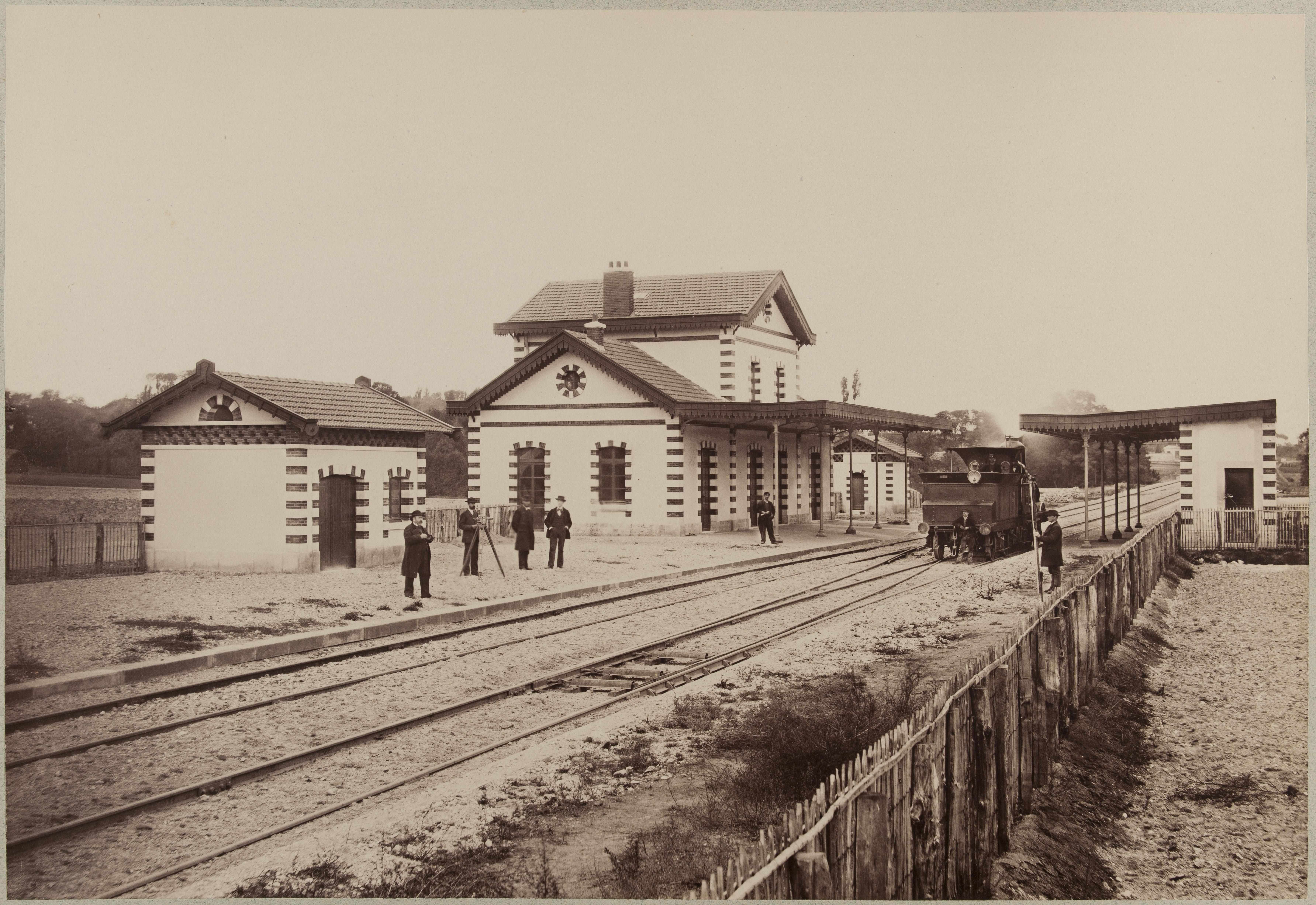 Станция Орли-Вильнёв-ле-Руа