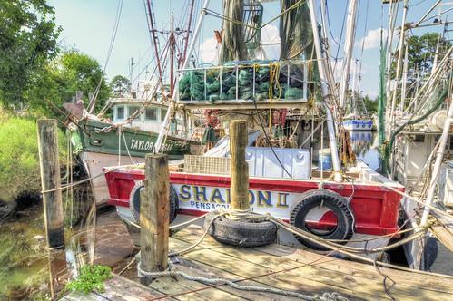 Taylor Morgan and The Sharon II - Bayou La Batre Alabama