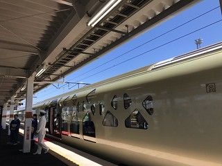 TRAIN SUITE SHIKI-SHIMA, 四季島 会津若松駅