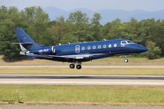 Gulfstream G200 Galaxy ECLAIR AVIATION OK-GLF 167 Mulhouse juillet 201