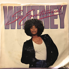 WHITNEY HOUSTON:SO EMOTIONAL(JACKET A)