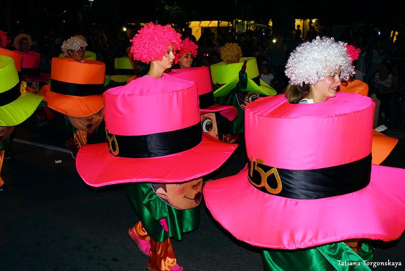 Карнавальная группа из города Враньска Баня в Которе