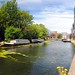 Narrow boats along the canal