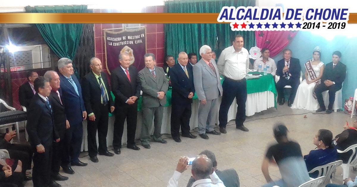 Constructores celebraron 52 años de fundación