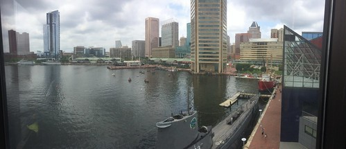 Baltimore Panorama from Aquarium