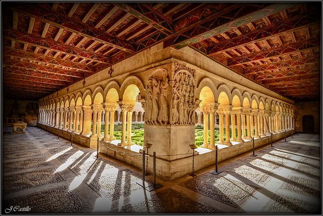 Claustro del Monasterio de Santo Domingo de Silos (Burgos)
