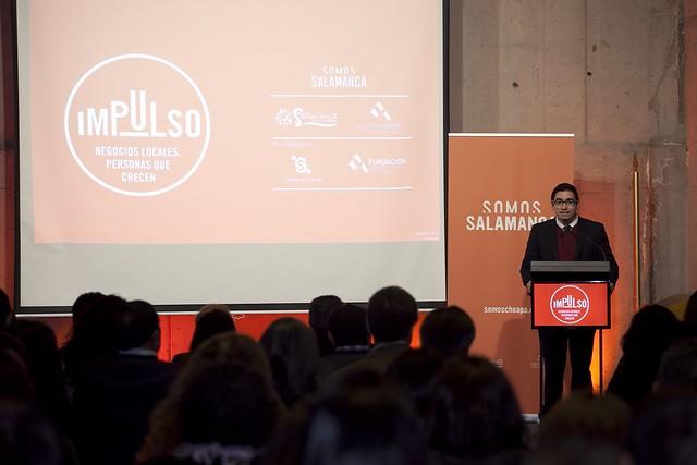 """Entrega beneficiarios Proyecto """"Impulso"""" - Salamanca"""