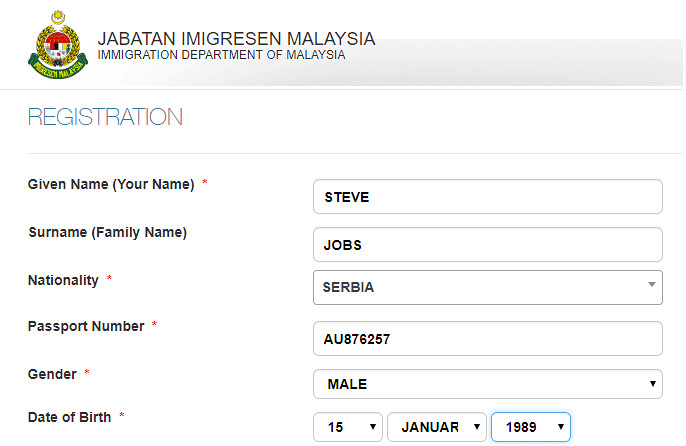 4613 Online Procedure to Apply for Malaysian Visit Visa 01