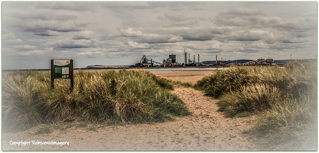 Redcar Furnace from North Gare