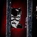 Liz Art Berlin Catwoman behind bars
