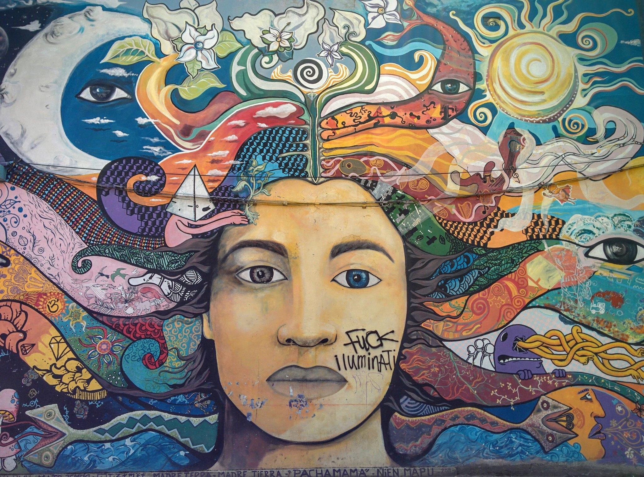Street art in Bariloche
