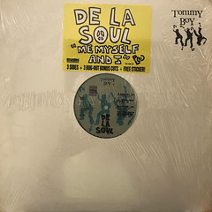 DE LA SOUL:ME MYSELF AND I(JACKET A)