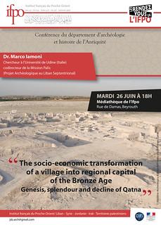 The socio-economic transformation of a village into regional capital of the Bronze Age: genesis, splendour and decline of Qatna