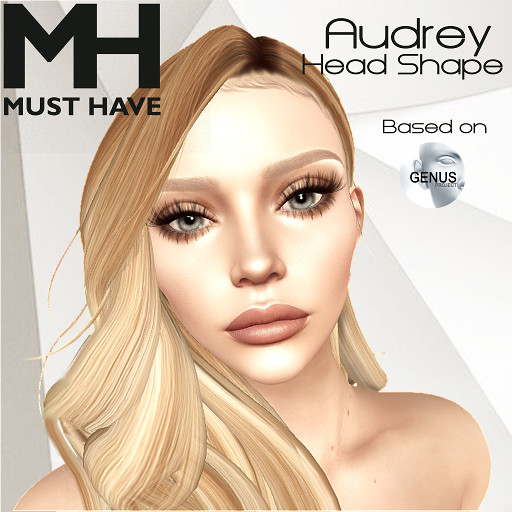 MUST HAVE – Audrey Head Shape (Genus Bento)