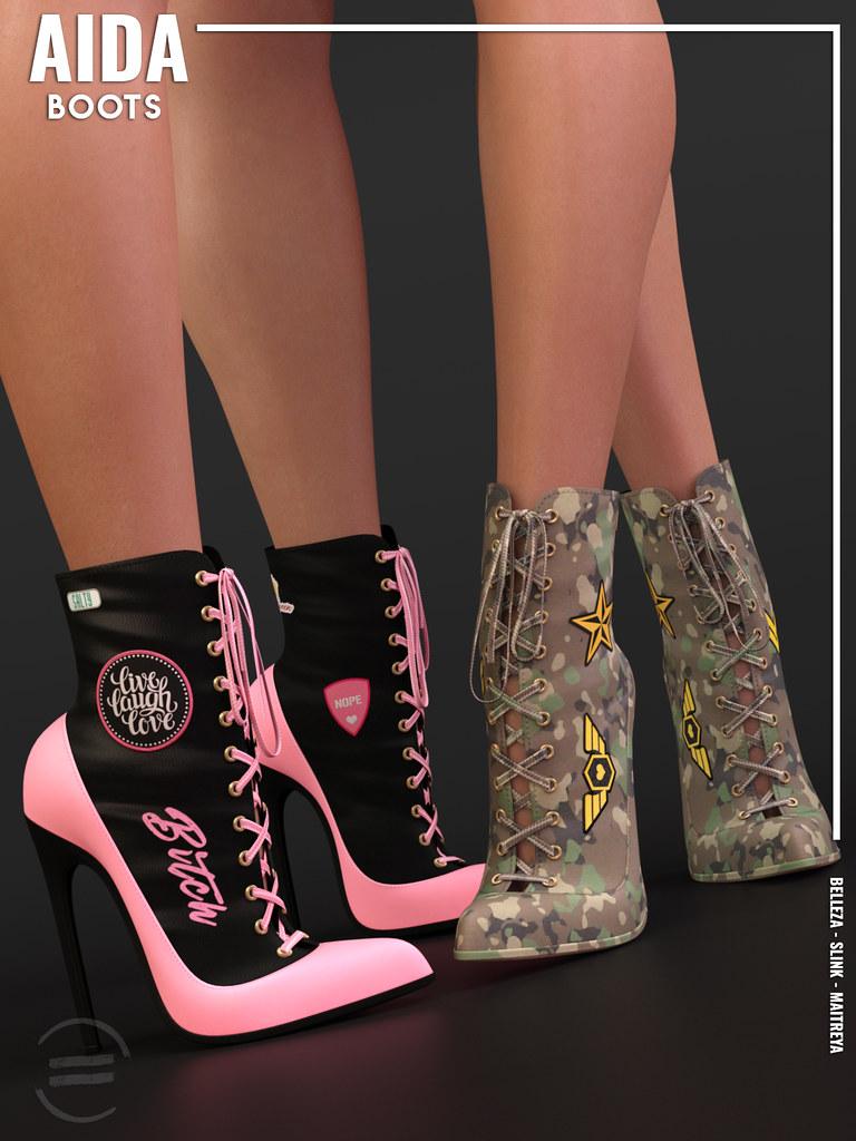 EQUAL – Aida Boots