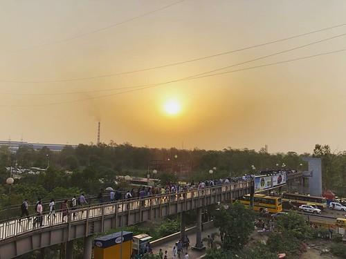 City Life - Ghaziabad's Sunset Boulevard, Vaishali Metro Station