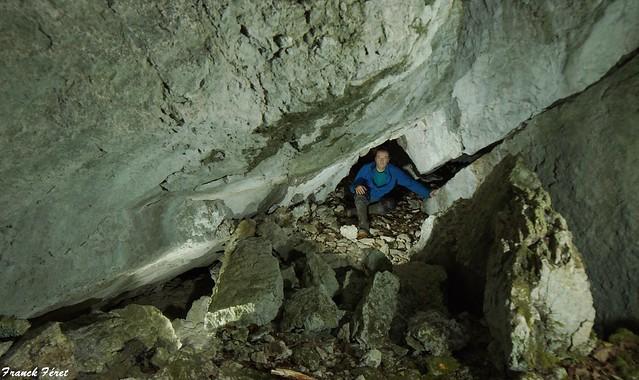 Grotte 2 des Rochers de Saraz (inédit)