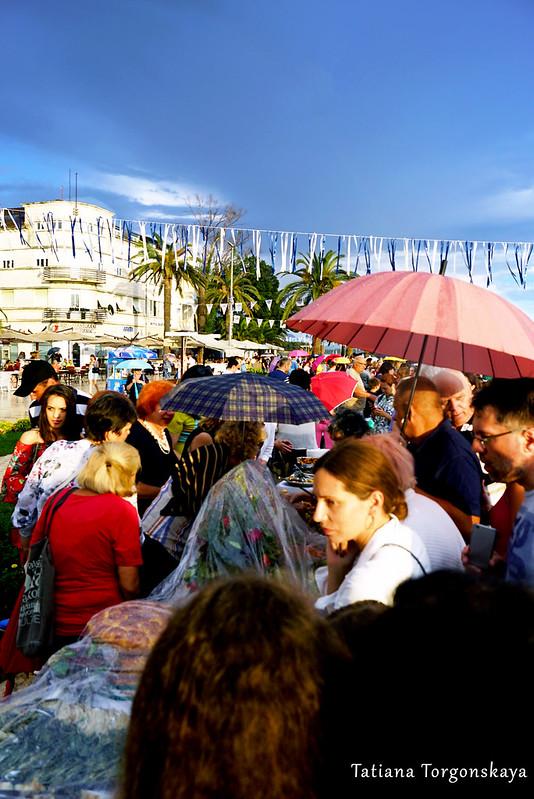 Посетители и участники 14 Фестиваля жученицы