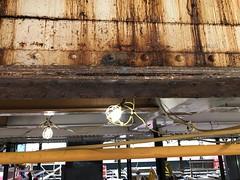 Deterioration at 36 Av before station repairs