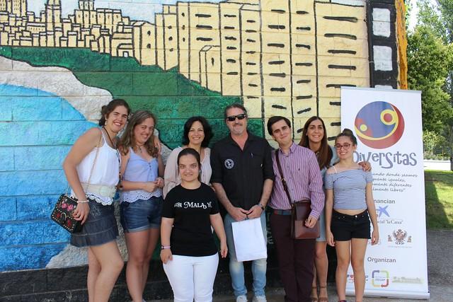 """Visita Rafa J. Vegas Club de Lectura """"Las Soñadoras"""" (Viernes 22 de junio de 2018)"""