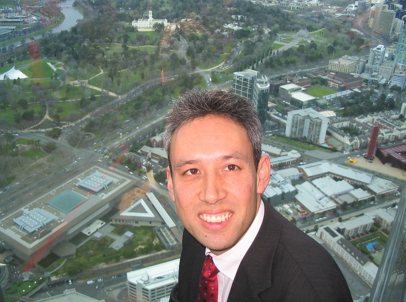 At the Eureka Skydeck, June 2008