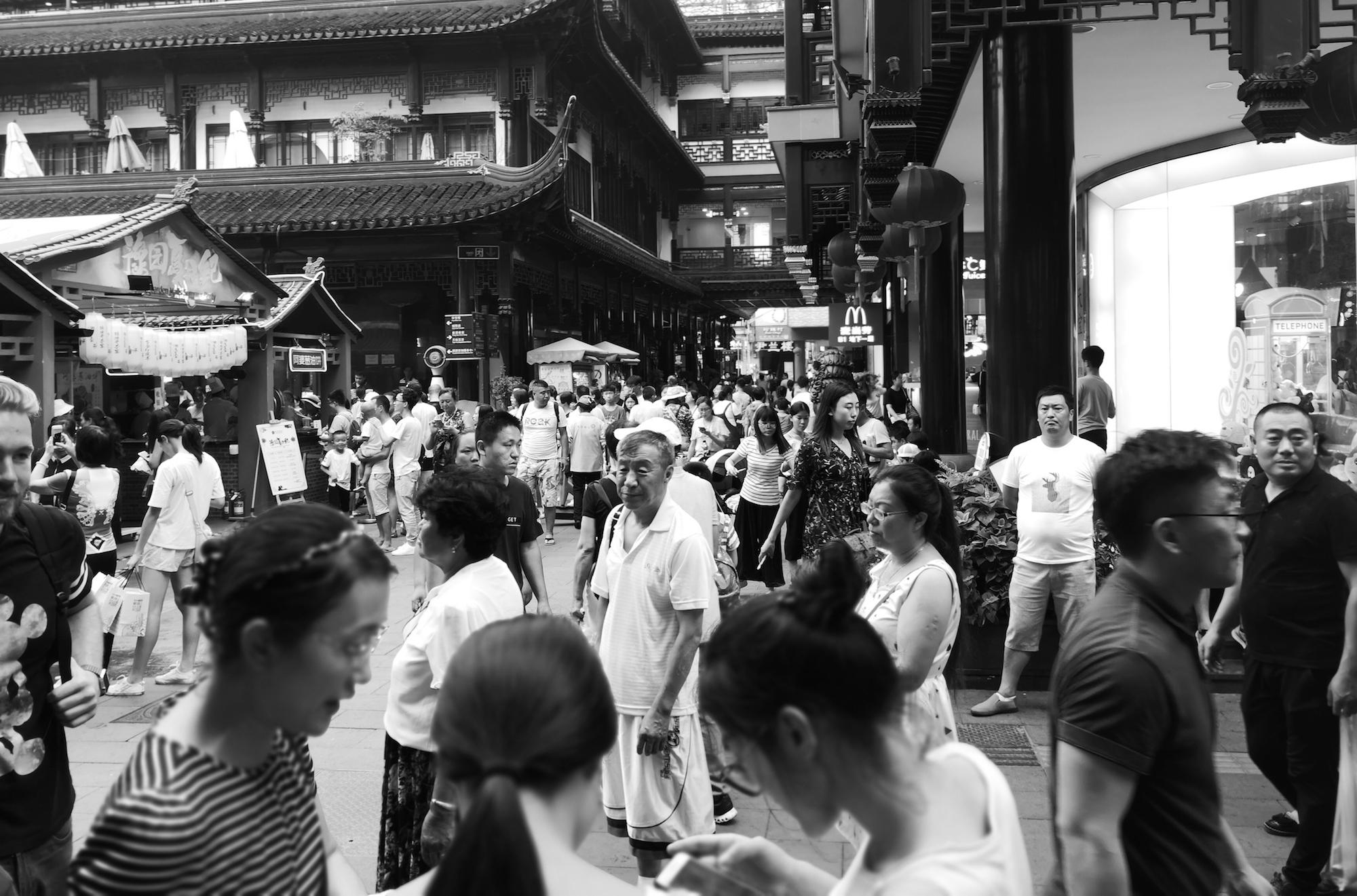 Bustling-Shanghai