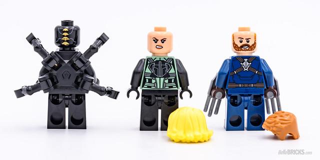 REVIEW LEGO Marvel 76101 Outrider Dropship Attack 2