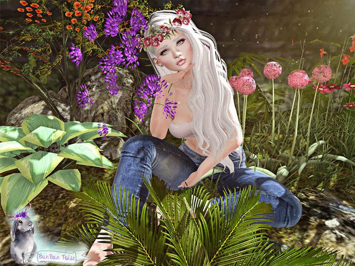 Flower Child Pose!