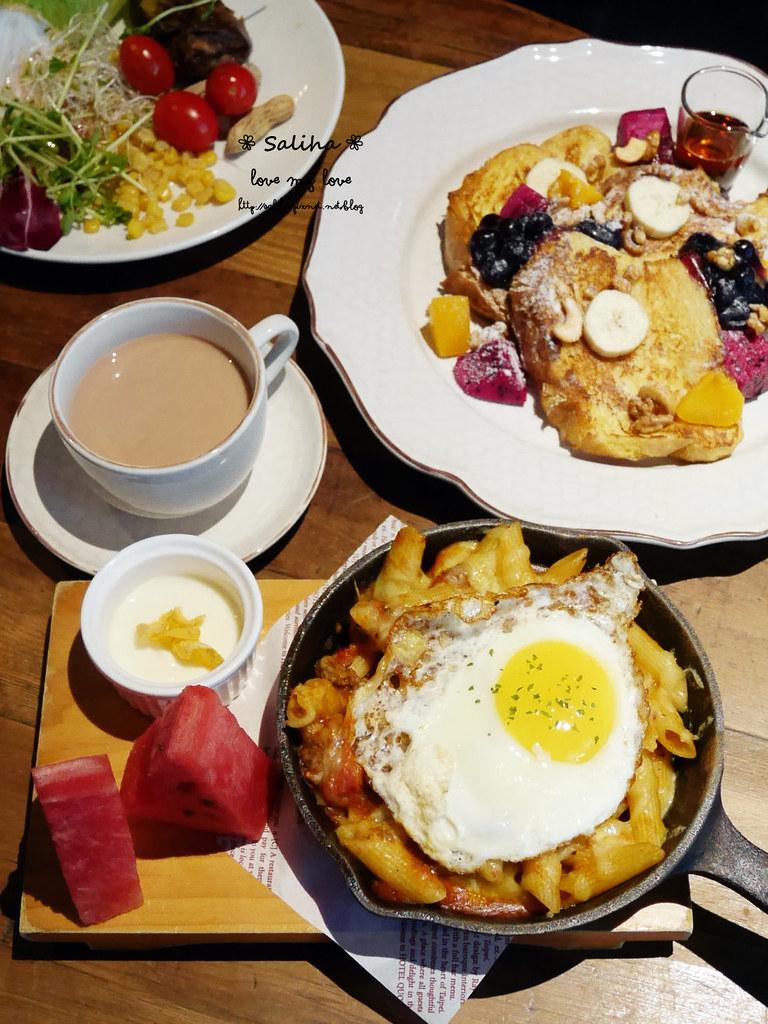 台北松山小巨蛋站quote333餐廳好吃早午餐推薦法式土司 (5)