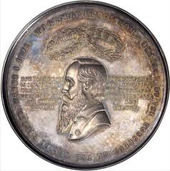 1871 George F. Robinson Medal Obverse