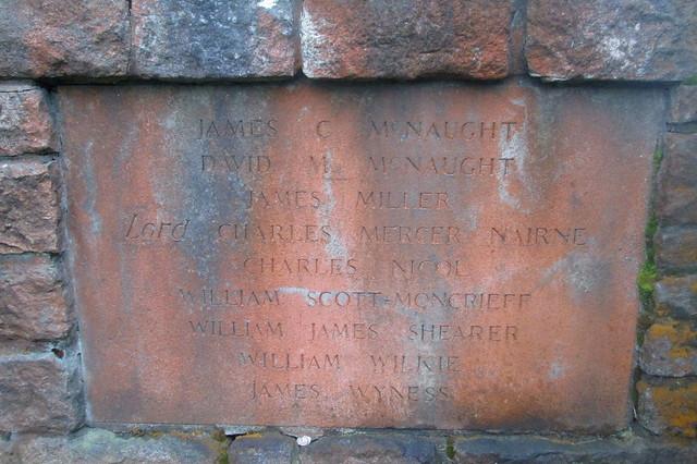 More Names on Crook of Devon War Memorial