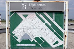 Closer view of the old information table | Observation Terrace | Budap