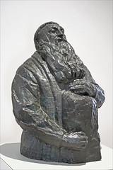 Auguste Rodin au travail par Antoine Bourdelle (Musée Camille Claudel, Nogent-sur-Seine)